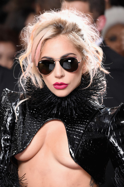 Lady Gaga Aviator Sunglasses