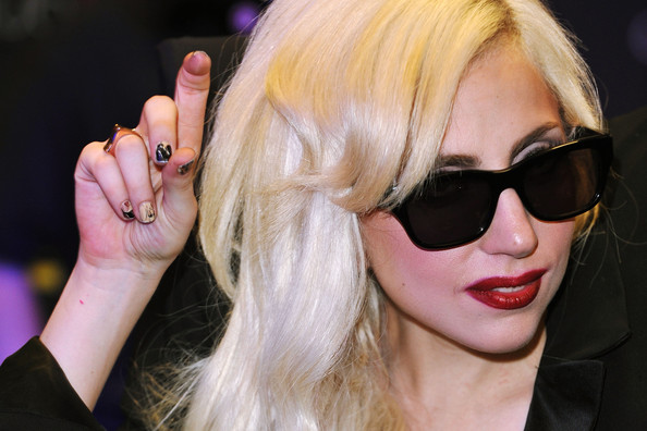 Lady Gaga Minx Nails