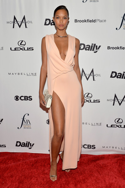 Lais Ribeiro Wrap Dress