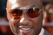 Lamar Odom Rectangular Sunglasses