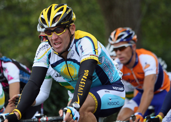 Lance Armstrong Bicycling Helmet []