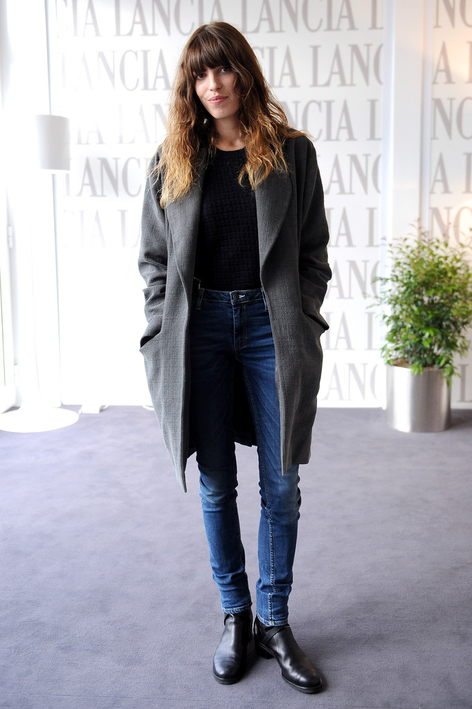 Lou Doillon attends the 7th Rome Film Festival at Lancia Cafe on November 15, 2012 in Rome, Italy.