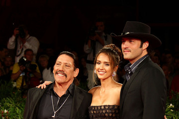 Jessica Alba Danny Trejo Lancia On The Red Carpet At 67th Venice Film Festival: September 1, 2010