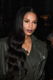 Ciara attended the Lanvin fashion show wearing the most perfectly sweet waves.