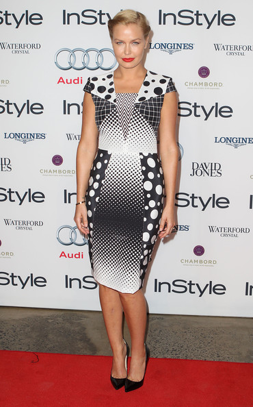 Lara Bingle Print Dress