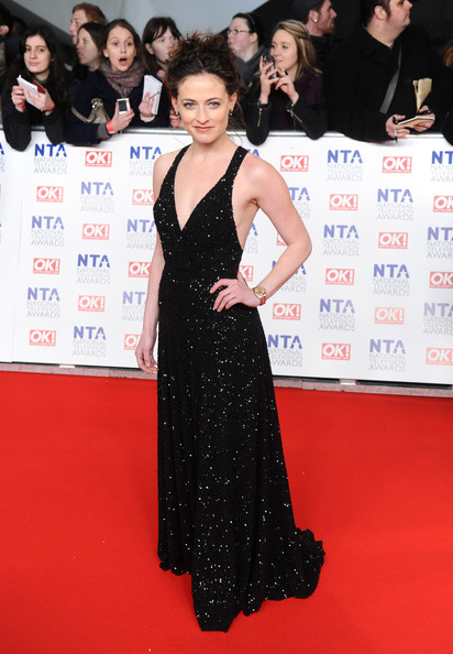 Lara Pulver Evening Dress