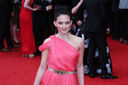 Lara Pulver One Shoulder Dress