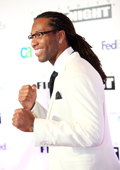 Larry Fitzgerald Dreadlocks