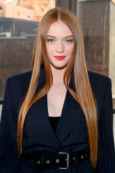 Larsen Thompson Long Straight Cut