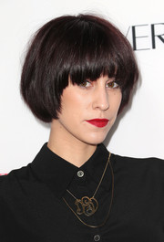 Devin Star Tailes took a risk with this bowl cut when she attended the Hollywood Hot List party.