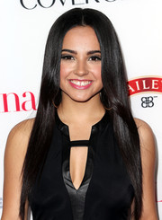 Becky G went to the Hollywood Hot List party wearing a glossy straight 'do.