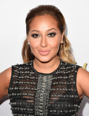 Adrienne Bailon looked sweet at the Latina Hot List party with her brushed-back, wavy 'do.