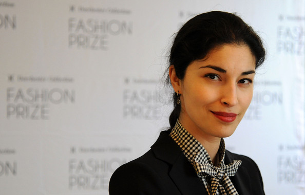 Caroline Issa looked simply lovely with her braided hairstyle at the launch of the 2013 Dorchester Collection Fashion Prize.