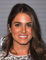 Nikki Reed showed off her long curls while walking the red carpet at the Blackberry launch party.