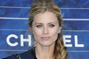 Laura Bailey Long Braided Hairstyle