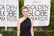 Laura Carmichael One Shoulder Dress