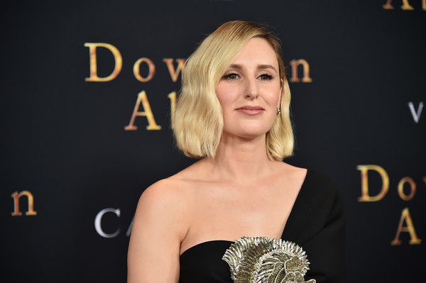 Laura Carmichael Short Wavy Cut [downton abbey,hair,beauty,hairstyle,shoulder,fashion,blond,dress,red carpet,premiere,carpet,laura carmichael,new york,alice tully hall,lincoln center,premiere,new york premiere]