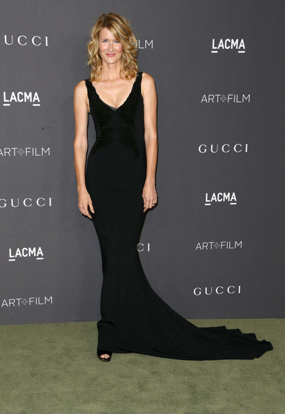 Laura Dern Fishtail Dress