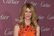Laura Dern Metallic Clutch