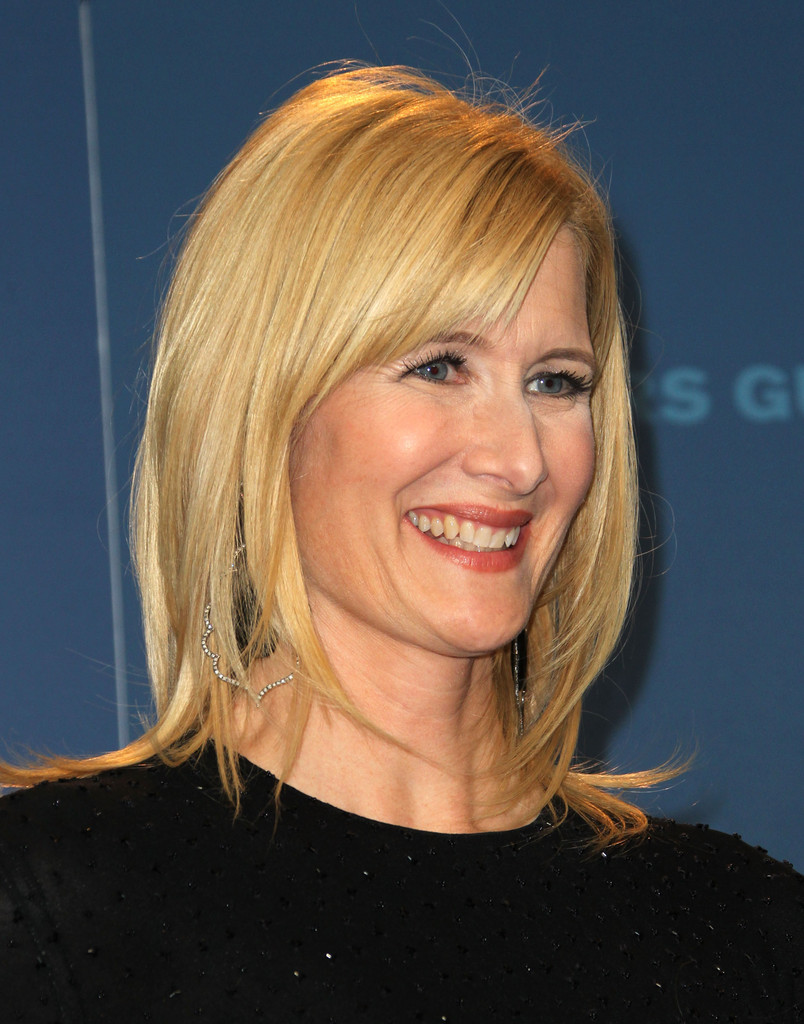 Laura Dern Medium Layered Cut Shoulder Length Hairstyles
