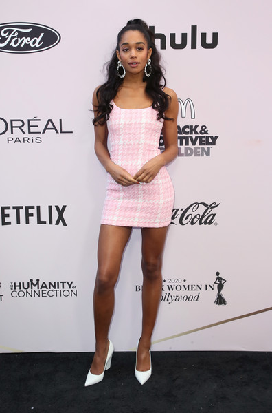 Laura Harrier Mini Dress