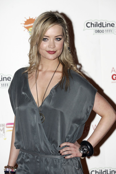 Laura Whitmore Leather Band Chronograph Watch