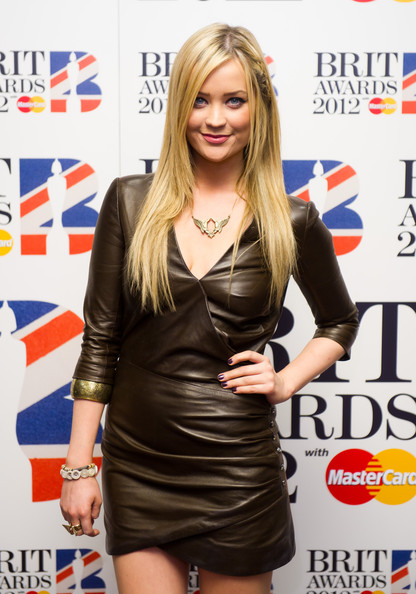 Laura Whitmore Leather Dress