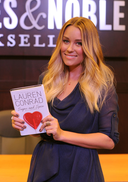 Lauren Conrad Cocktail Ring [sugar and spice,lauren conrad style guide,fashion,blond,event,long hair,award ceremony,talent show,award,smile,lauren conrad,lauren conrad book signing,bookstore,california,los angeles,the grove,barnes noble,book signing]