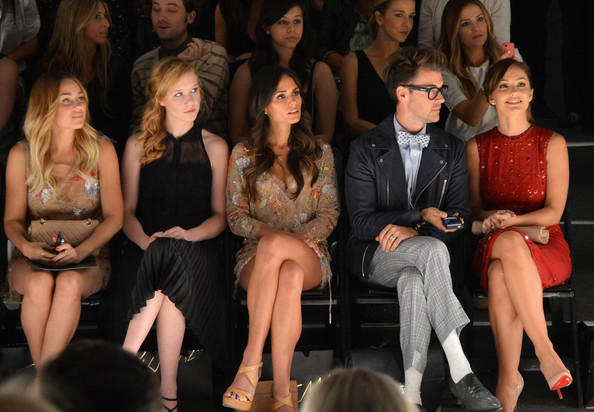 Jenny Packham - Front Row - Spring 2013 Mercedes-Benz Fashion Week