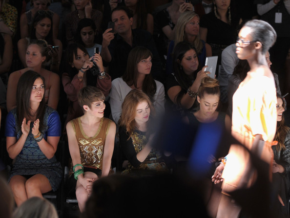 Tracy Reese - Front Row - Spring 2013 Mercedes-Benz Fashion Week
