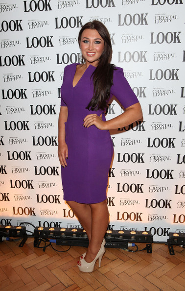Lauren Goodger Peep Toe Pumps