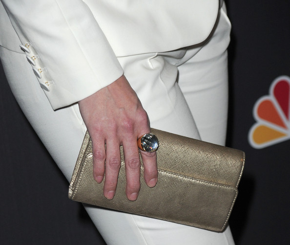 Lauren Graham Metallic Clutch