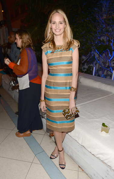 Lauren Santo Domingo Print Dress