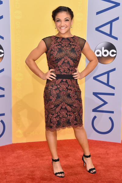 Laurie Hernandez Lace Dress
