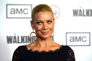 Laurie Holden Gold Dangle Earrings