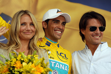 Tom Cruise Cameron Diaz Le Tour 2010 - Stage Eighteen