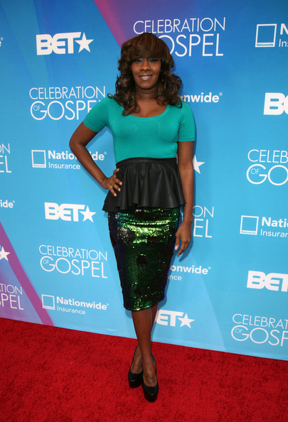 LeAndria Johnson Peplum Top