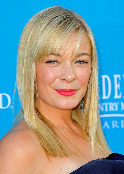 LeAnn Rimes Medium Straight Cut with Bangs