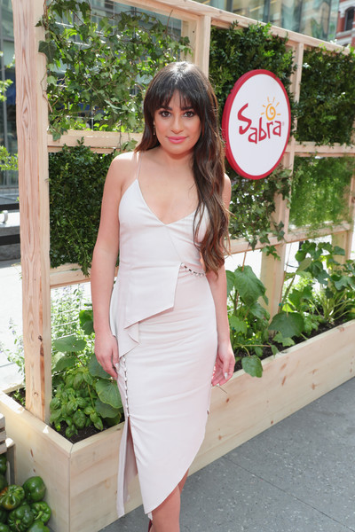 Lea Michele Cocktail Dress []