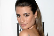 Lea Michele Long Straight Cut