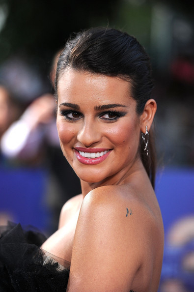 Lea Michele Smoky Eyes