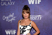 Lea Michele Print Dress