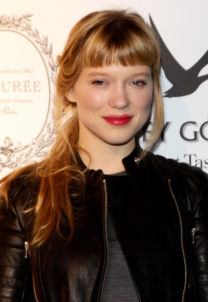 More pics of lea seydoux red lipstick 18 of 32 red for Lea boutique