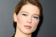 Lea Seydoux Short Side Part