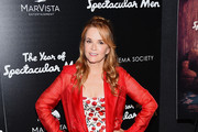 Lea Thompson Trenchcoat