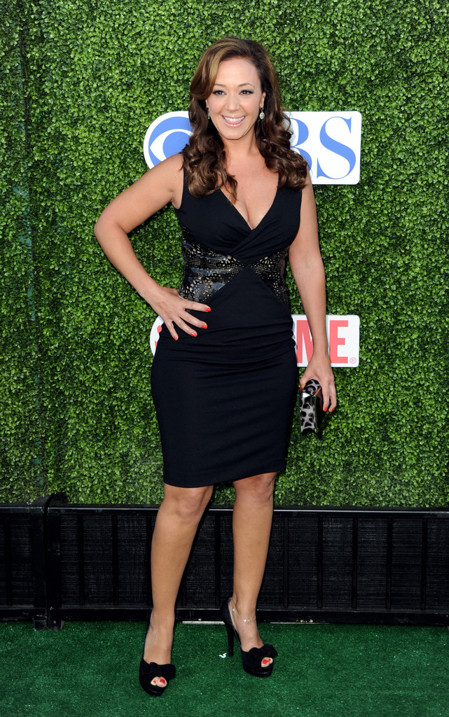 Leah Remini Cocktail Dress Leah Remini Looks Stylebistro