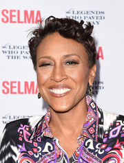 Robin Roberts sported a messy short 'do at the Legends Who Paved the Way Gala.