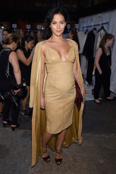 Leigh Lezark Maternity Dress [shows,fashion model,flooring,fashion,catwalk,leg,trunk,shoulder,girl,joint,carpet,christian siriano,leigh lezark,artbeam,christian siriano - backstage,new york city,new york fashion week,the shows]