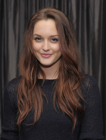 Leighton Meester Smoky Eyes [cinema society screening of ``the romantics,the romantics,hair,face,hairstyle,blond,eyebrow,lip,long hair,beauty,layered hair,brown hair,leighton meester,screening,gansevoort park avenue,new york city,cinema society with people stylewatch,j. crew,party,party]