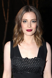 Gillian Jacobs attended the Lela Rose Los Angeles dinner looking pretty with her beachy waves.